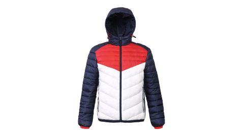 Rokka&Rolla Men's Lightweight Hooded Puffer Jacket