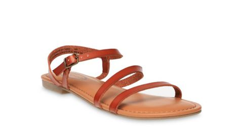 Scoop Women's Juliet Asymmetrical Flat Sandals