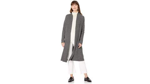 Amazon Essentials Women's Oversize Open-Front Knee-Length Sweater Coat