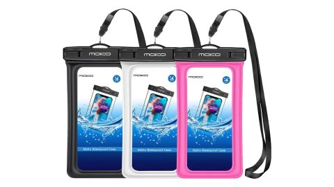 Keep your phone safe with accessories like the MoKo Waterproof Phone Pouch Bag.
