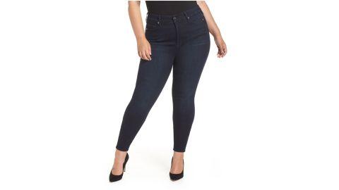 Good American Good Legs High-Waist Skinny Jeans