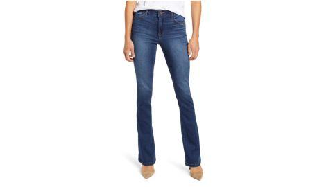 Wit & Wisdom Ab-Solution High Waist Itty Bitty Bootcut Jeans