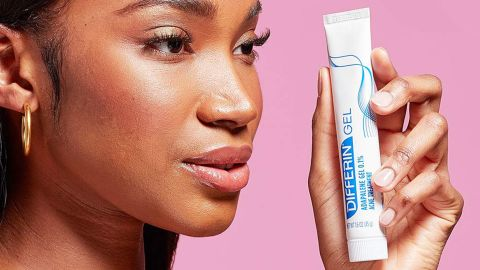 Differin Gel Acne Spot Treatment for Face With Adapalene