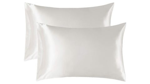 Bedsure Satin Pillowcase for Hair and Skin, 2-Pack