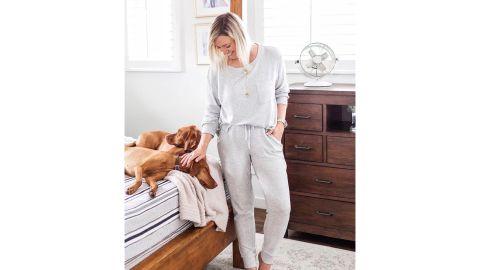 Stars Above Perfectly Cozy Lounge Sweatshirt & Jogger Pants