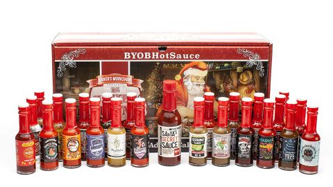 BYOB The 25 Sauces of Christmas