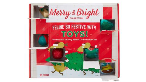Merry & Bright Feline So Festive with Toys