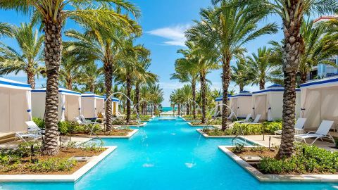 Use your points to take a vacation at the Grand Hyatt Baha Mar in the Bahamas.