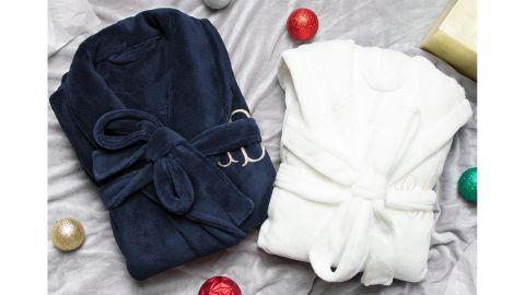 JoyfulTidingsBridal His and Hers Personalized Robe Set