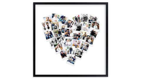Heart Snapshot Mix Print