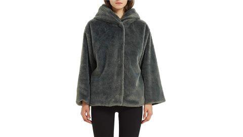 Bellivera Women's Faux Shearling Shaggy Coat