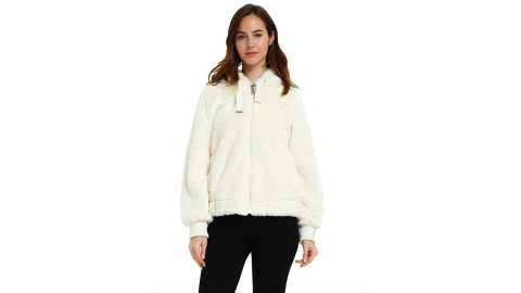 Bellivera Women's Faux Fur Coat