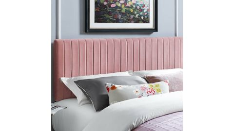 Orren Ellis Sevenoaks Upholstered Panel Headboard
