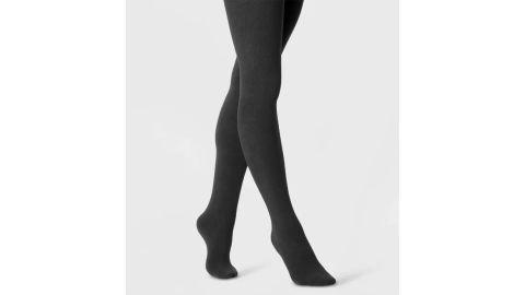 Women's Flat-Knit Fleece-Lined Tights