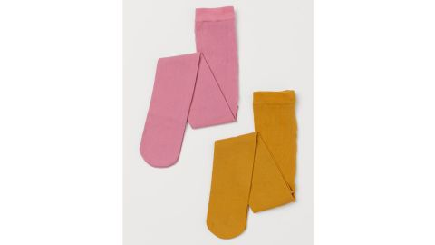 H&M Fine-Knit Tights, 2-Pack