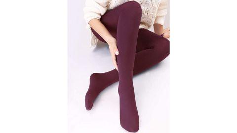 Vero Monte Women's Opaque Fleece-Lined Tights