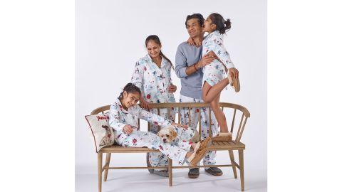 Family Flannel Company Cotton Pajama Sets - Snowy Fun Friends