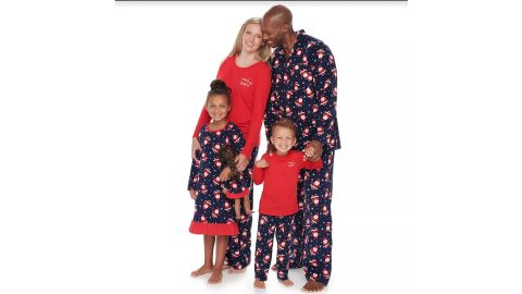 Jammies For Your Families Happy Santa Family Collection