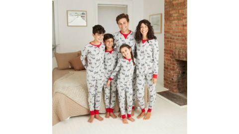 Holiday Safari Animal Print Matching Family Pajamas Collection