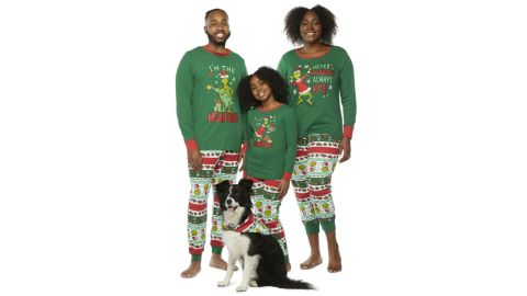 Dr. Seuss Grinch Matching Family Pajamas