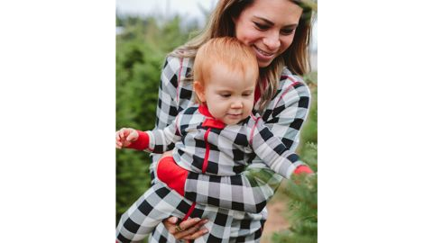 Buffalo Plaid Family Holiday Pajamas