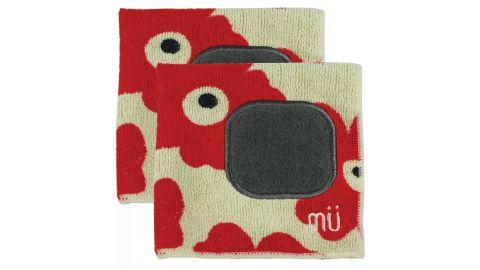 MU Kitchen Microfiber Dishcloth With Scrubber