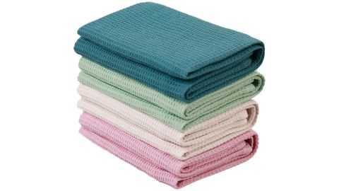 Py Home & Sports Waffle Weave Kitchen Towels