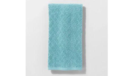 Solid Diamond Weave Kitchen Towel