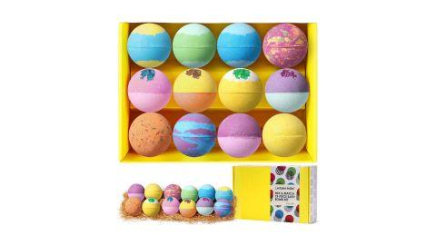 Lagunamoon Bath Bombs Gift Set, 12-Pack