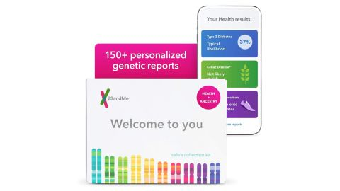 23andMe Health + Ancestry Service: Personal Genetic DNA Test