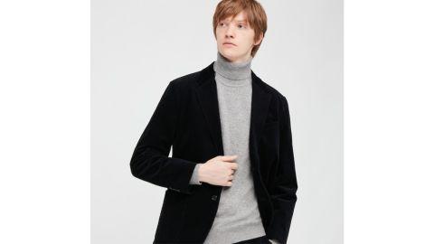 Uniqlo Men's Cashmere Turtleneck Long-Sleeve Sweater