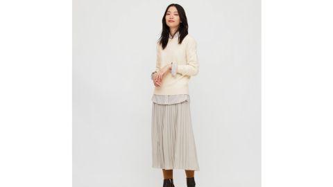Uniqlo Women's Cashmere Crewneck Sweater