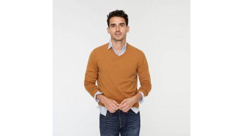 J.Crew Men's Everyday Cashmere V-Neck Sweater