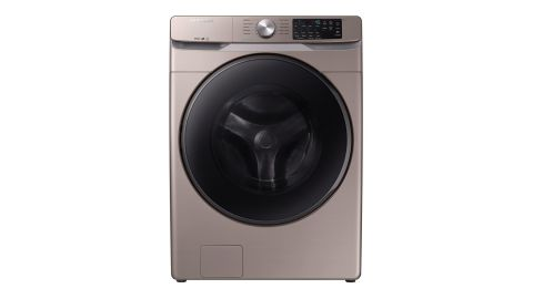Samsung High-Efficiency Champagne Front-Load Washing Machine With Steam