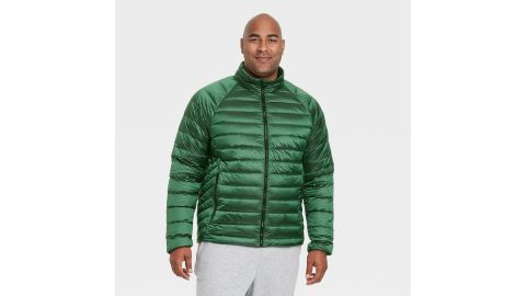 All in Motion Men's Packable Down Puffer Jacket