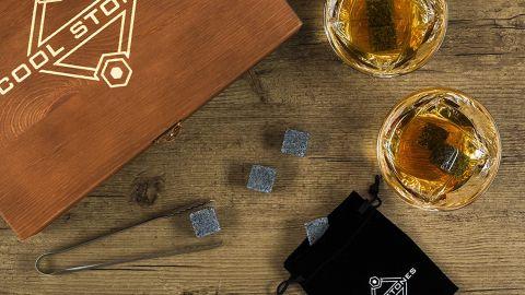 Cool Stones Whiskey Gift Box Set