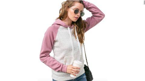 Doublju Basic Lightweight Pullover Hoodie