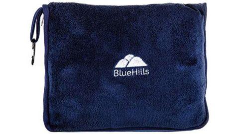 BlueHills Premium Soft Travel Blanket