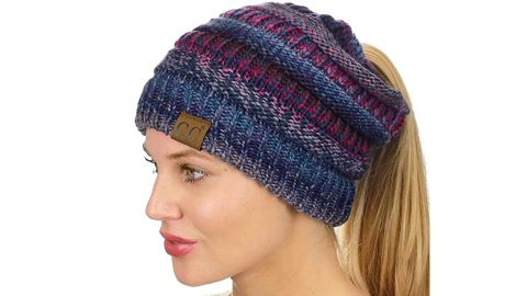 C.C. Ponytail Beanie Hat