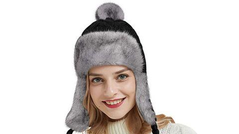 Omechy Knit Peruvian Beanie Hat