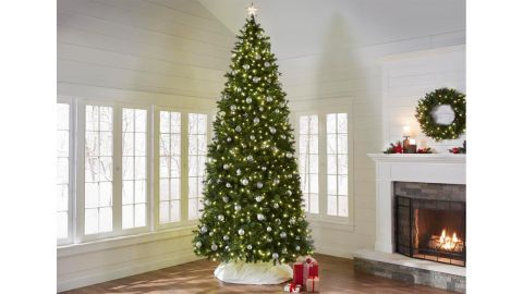 Home Accent Holidays 12-Ft Wesley Long Needle Pine Artificial Christmas Tree
