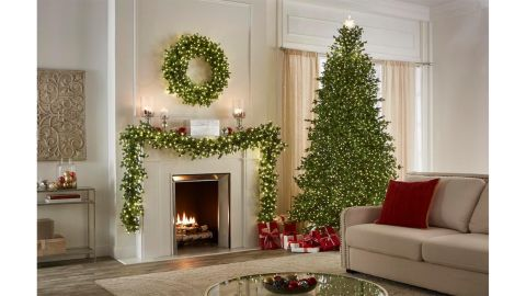 Home Decorators Collection 9-Ft Grand Fir Artificial Christmas Tree