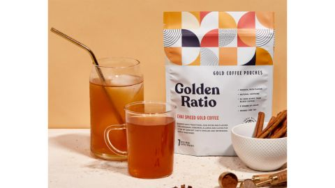Golden Ratio 7-Pack Chai Spiced Gold Coffee Pouches
