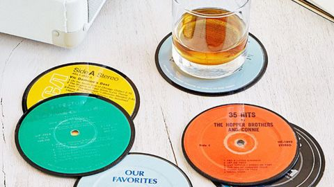 Uncommon Goods Upcycled Record Coasters