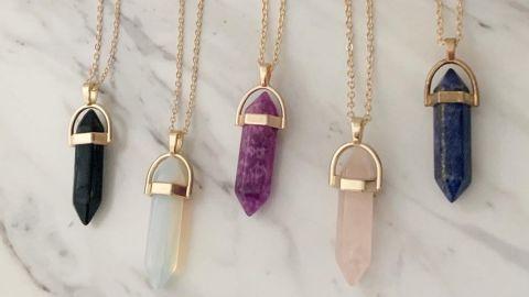 Gifts for Friendship Quartz Necklace