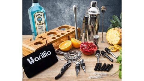 Barillio Elite 23-Piece Bartender Kit Cocktail Shaker Set