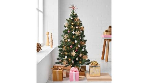 Wondershop 3-Foot Pre-Lit Alberta Spruce Clear Lights Artificial Christmas Tree