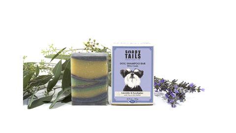Soapy Tails Dog Shampoo Bar
