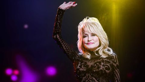 LOS ANGELES, CALIFORNIA - Dolly Parton attends MusiCares Person of the Year honoring Dolly Parton at Los Angeles Convention Center on February 08, 2019. (Photo by Rich Fury/Getty Images for The Recording Academy)