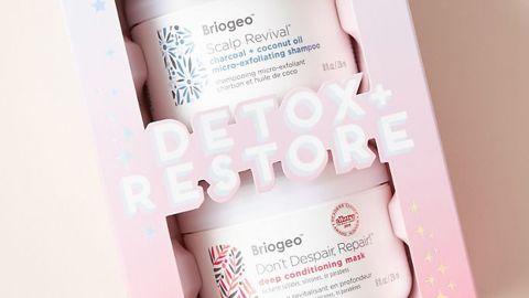 Briogeo Detox and Restore Gift Set